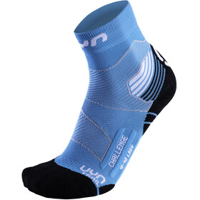 UYN Run Trail Challenge Socks Women Turquoise/White